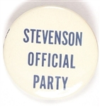 Stevenson Official Party