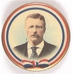 Theodore Roosevelt Ribbon Design Celluloid