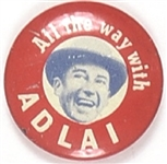 All the Way With Adlai Litho