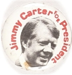 Carter for President Picture Pin