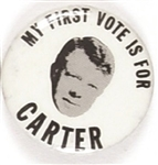 My First Vote is for Carter
