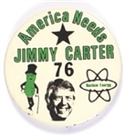 America Need Carter Nuclear Power Pin
