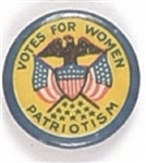 Votes for Women Patriotism