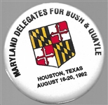 Maryland Delegates for Bush, Quayle