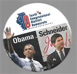Obama, Schnieder Illinois Coattail