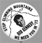 Bob Kennedy Stop Climbing Mountains