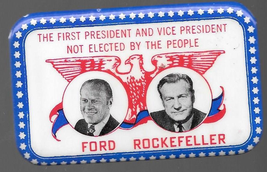 Ford And Rockefeller Fargo Rubber Stamp Jugate