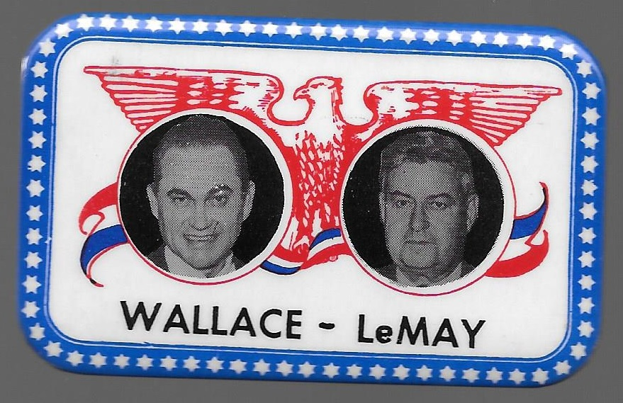 Wallace LeMay Fargo Rubber Stamp Jugate