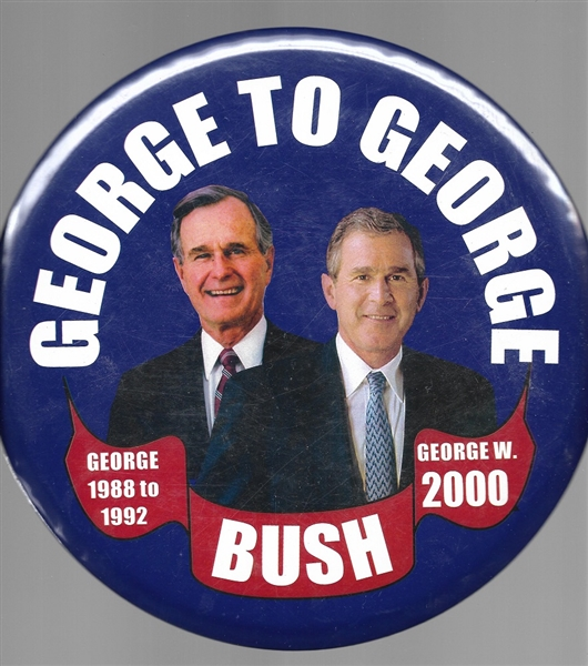 From George to George Giant 9 Inch Pin