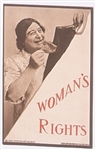 Womans Rights 1910 Postcard