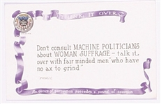 Votes for Women Suffrage Fair Minded Men Postcard