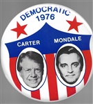 Carter, Mondale 9 Inch Shield Jugate