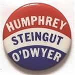 Humphrey, Steingut, O'Dwyer New York Coattail