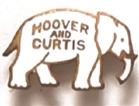 Hoover and Curtis Enamel Elephant