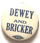 Dewey, Bricker 1944 Celluloid