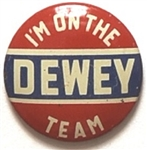 Im on the Dewey Team