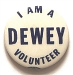 I am a Dewey Volunteer
