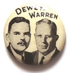 Dewey and Warren Celluloid Jugate