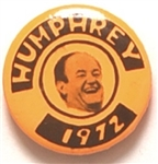Humphrey 1 Inch Celluloid 1972