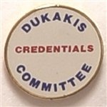 Dukakis Credentials Committee