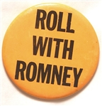 Roll With Romney Emress Sample Pin