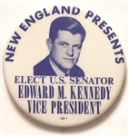 New England Presents Edward Kennedy for Vice President