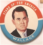 Wallace Stand Up for America 3 1/2 Inch Sample Pin