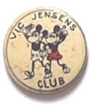 Mickey Mouse Club Black and White Celluloid
