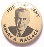 Henry Wallace For President Larger Size