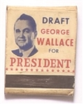 Draft George Wallace President Matchbook