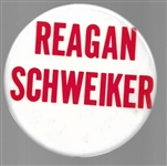Reagan and Schweiker 1976 Pin