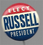 Elect Russell President