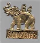 Goldwater 64 Elephant Jewelry Pin