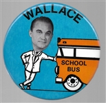 George Wallace Large School Bus Pin
