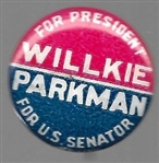 Willkie, Parkman Massachusetts Coattail