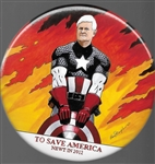 Newt Gingrich Captain America