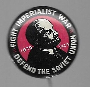 Lenin Fight Imperialist War