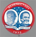 Schenectady for McGovern, Shriver