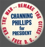 Channing Phillips End the War, Free D.C.