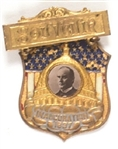 William McKinley 1897 Inaugural Souvenir Badge