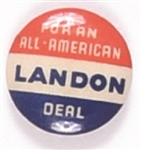 Landon for an All-America Deal