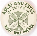 Adlai and Estes are Best for You Four-Leaf Clover