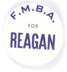 FMBA for Reagan Firefighters Political Pin