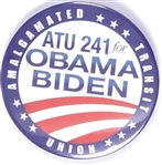 ATU 241 for Obama-Biden