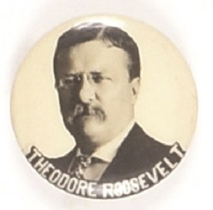 Theodore Roosevelt Later Photo Celluloid