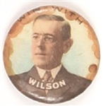 Wilson for President Colorful Celluloid