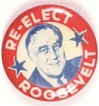 Re-Elect Roosevelt Picture Pin