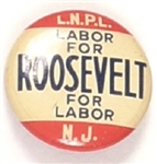 New Jersey Labor for Roosevelt