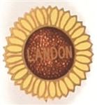 Landon Enamel Sunflower Pin