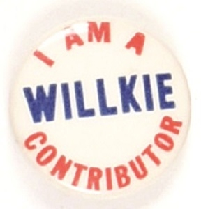 I am a Willkie Contributor